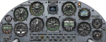 Instrument Panel 2 rc digital decal
