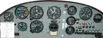 Instrument Panel 4 rc digital decal
