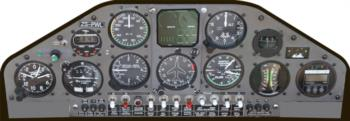Instrument Panel 5 rc digital decal