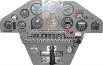 Instrument Panel 6 rc digital decal