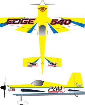 PAU Edge 540 v2 Graphic Package
