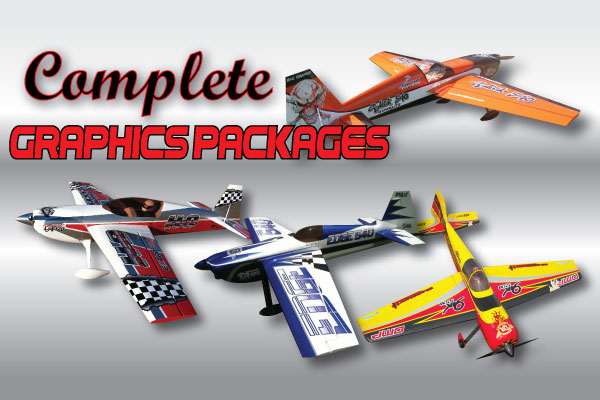 Rc Decals Radio Controlled Model Airplane Graphics B