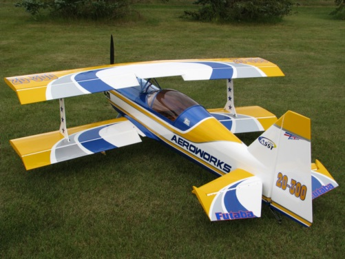 Sharp Looking Aeroworks 150cc Ultimate Biplane At