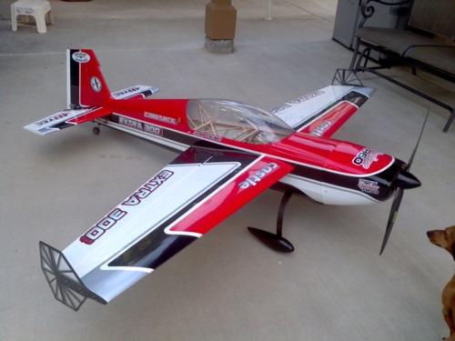 Extreme Flight 78 Inch Extra With Custom Graphics At